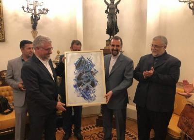 نمایشگاه آثار هنرمندان ایران در مسکو برگزار گردید