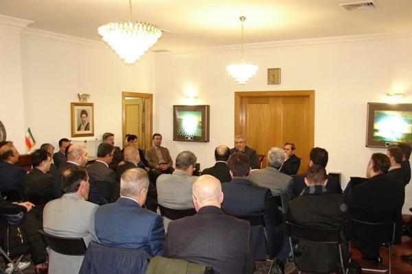 معاون رئیس جمهوری ایران با کارآفرینان صنعت گردشگری دیدار کرد