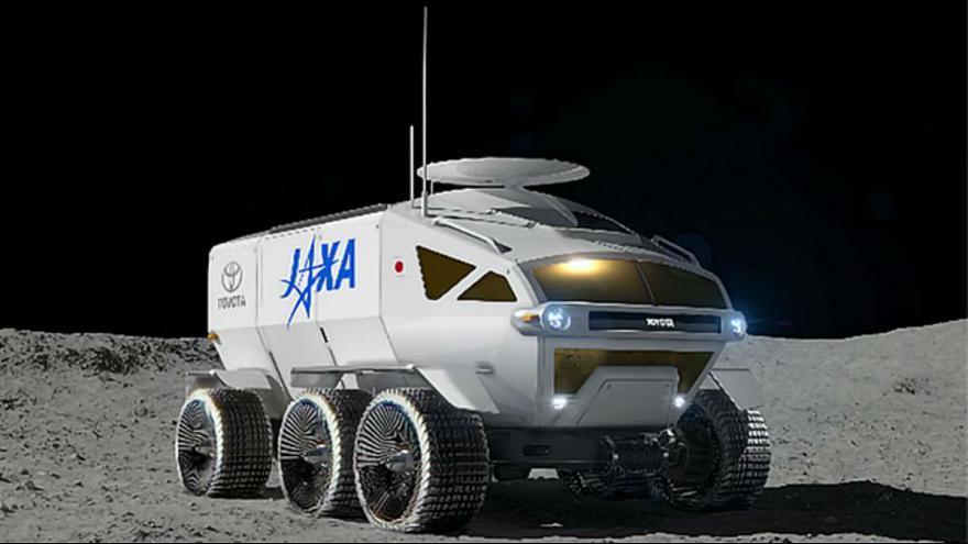 برنامه تویوتا برای پرتاب ماه نورد به فضا