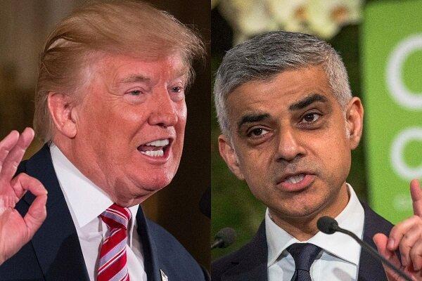 شهردار لندن به توهین ترامپ پاسخ داد