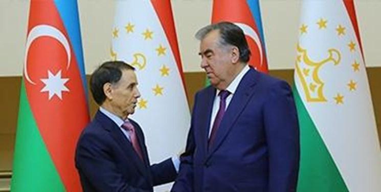 دیدار نخست وزیر آذربایجان با رئیس جمهور تاجیکستان