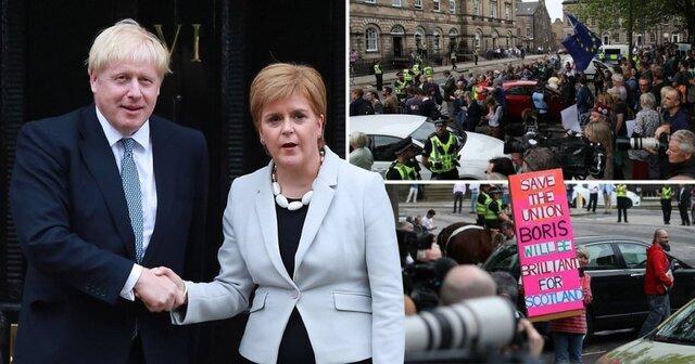 وزیر اول اسکاتلند: دولت بوریس جانسون خطرناک است