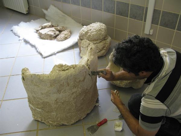 چالش باستان شناسان به کارگیری جدیدترین روش های حفاظتی توسط با تجربه ترین مرمتگران است