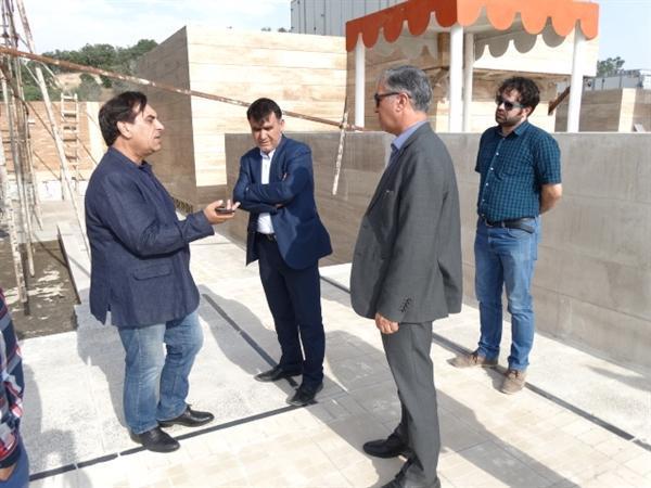 بازدید مدیرکل امور موزه های کشور از موزه در حال ساخت یاسوج