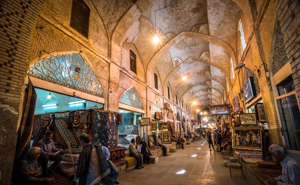 بازار قزوین شاهکار معماری ایرانی &ndash Qazvin Bazar