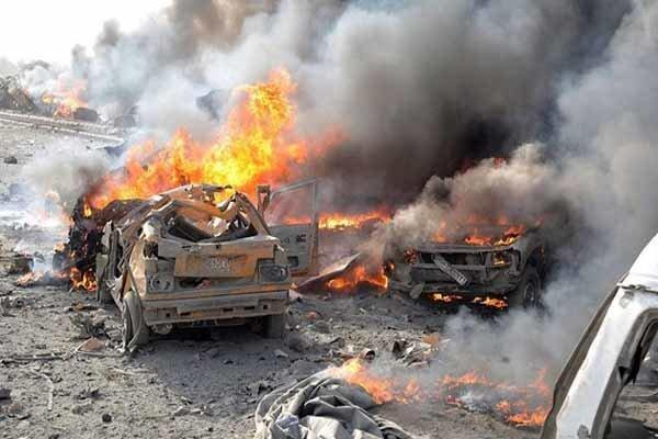 انفجار خودرو بمبگذاری شده در قامشلی سوریه