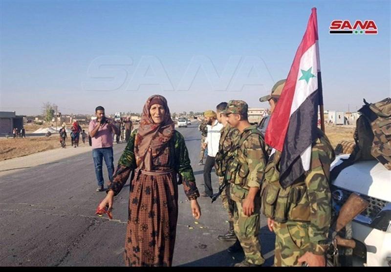 استقبال گرم مردمی از ورود ارتش سوریه به مناطق کُردنشین