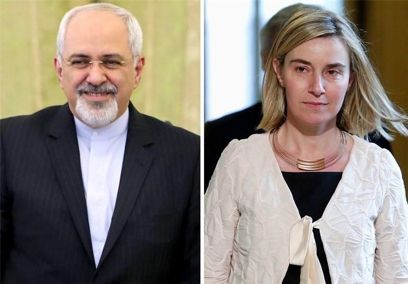 موگرینی و ظریف برای رسیدن به توافق هسته ای ابراز امیدواری کردند