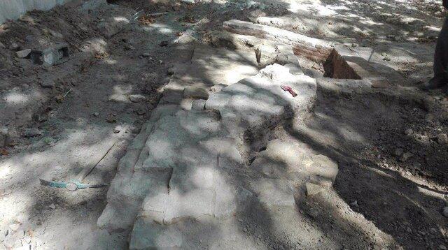 گزارشی از اکتشافات باستان شناسی در چهارباغ