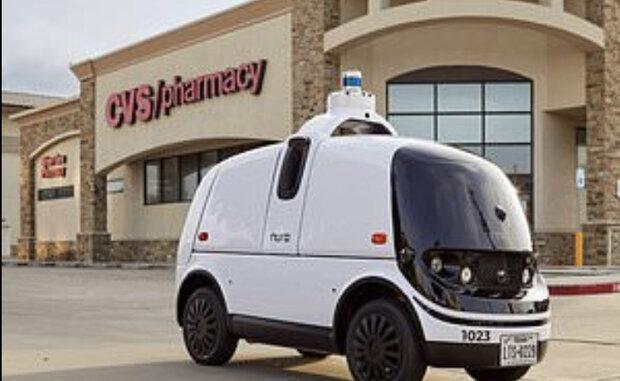 خودروهای خودران دارو به مشتریان می رسانند
