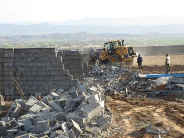 خبرنگاران 110 بنای غیرمجاز در اراضی کشاورزی مشهد قلع و قمع شد